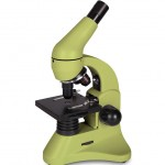 Микроскоп Levenhuk 50L PLUS Лайм (в кейсе)