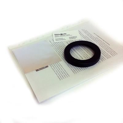 Светофильтр солнечный 70мм (основание + пленка Baader Planetrium ND 5.0) рефрактор