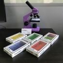 Насекомые (№1) — набор образцов для микроскопа (12 шт)