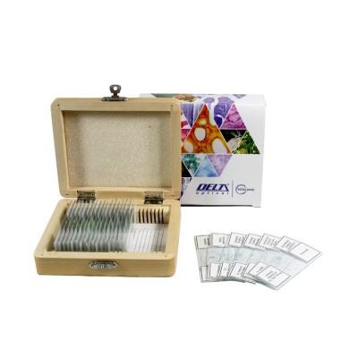 Набор препаратов Delta Optical 25 шт (Общая биология)