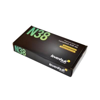 Набор готовых микропрепаратов Levenhuk N38 NG