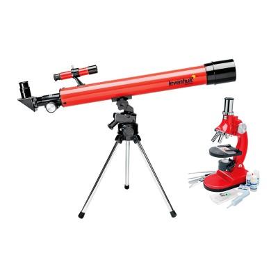 Levenhuk LabZZ. Набор: телескоп и микроскоп