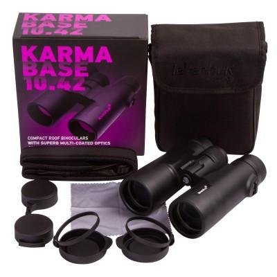 Бинокль Levenhuk Karma BASE 10x42