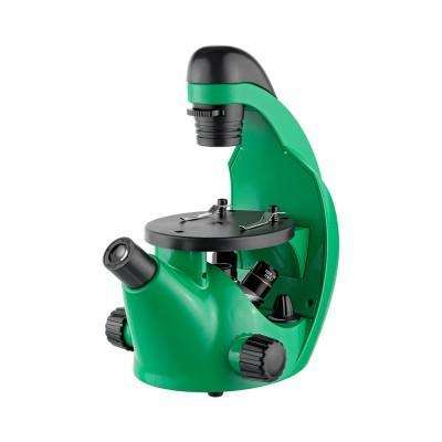 Микроскоп Микромед Эврика 40х-320х инвертированный (лайм)