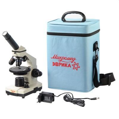 Микроскоп Микромед Эврика 40х-1280х (в кейсе)