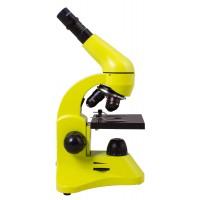 Микроскоп Levenhuk 50L Лайм (в кейсе)