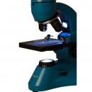 Микроскоп Levenhuk 50L PLUS Лазурь (в кейсе)