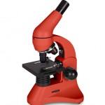 Микроскоп Levenhuk 50L PLUS Апельсин (в кейсе)
