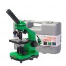 Микроскоп Эврика 40х-400х Лайм (в кейсе)