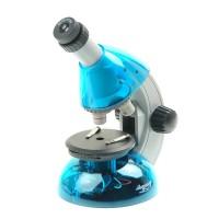 Микроскоп Микромед Атом 40x-640x (лазурь)